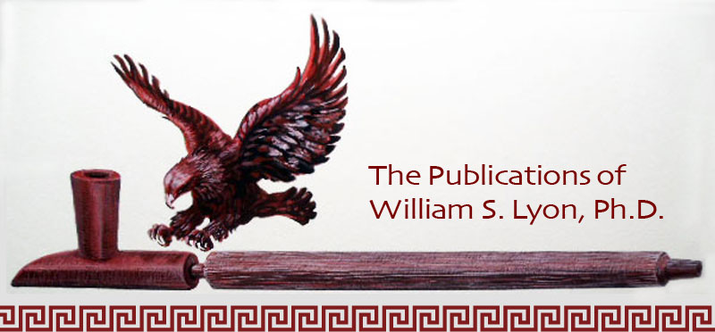 Publications of William S. Lyon Ph.D.